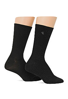 Lauren Ralph Lauren Cable Supersoft Trouser Sock