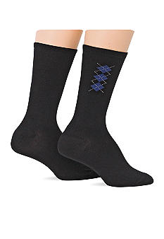 Lauren Ralph Lauren Brooks Argyle Supersoft Trouser Sock 2-pack