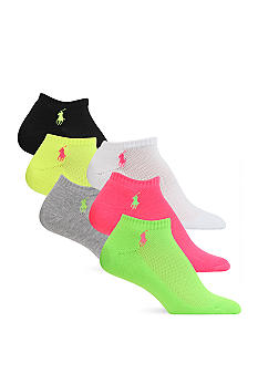 Lauren Ralph Lauren Sport Ped 6 Pack of Socks