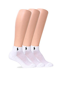 Ralph Lauren Blue Label 3 Pack Sport Socks