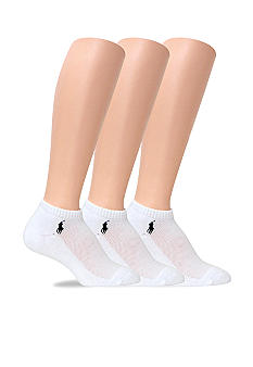 Lauren by Ralph Lauren 3 Pack Ped Socks