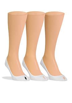 Polo Ralph Lauren Ultra Low Liner Socks - 3 Pack
