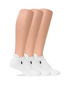 Polo Ralph Lauren Full Cushion Heel Tab Sport Socks - 3 Pack