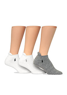 Polo Ralph Lauren Full Cushion Heel Tab Sport Socks - 3 Pack