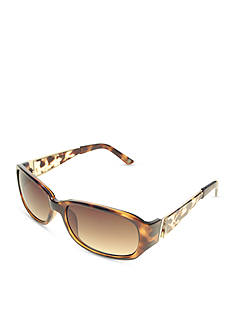 Nine West Small Plastic Rectangle Sunglasses