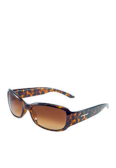 Nine West Plastic Modified Rectangle Sunglasses