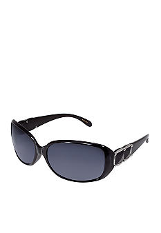 Nine West Plastic Rectangle Sunglasses