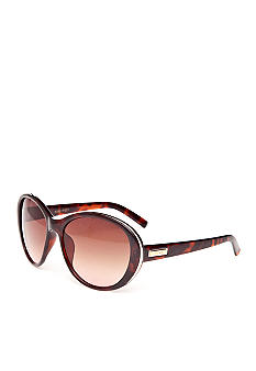Nine West Plastic Cat Eye Sunglasses