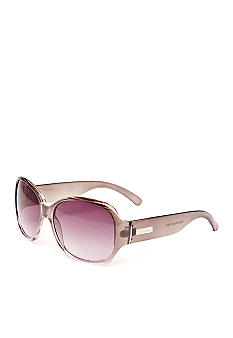 Nine West Large Plastic Square Sunglasses