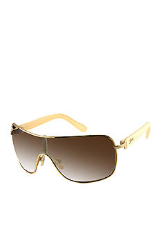 GUESS Metal Shield Sunglasses