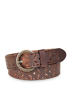 Kim Rogers® Perforated Cut Out Belt