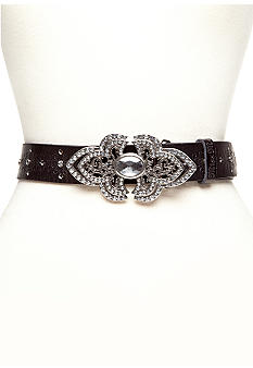 Miss Me Perforated Fashion Belt