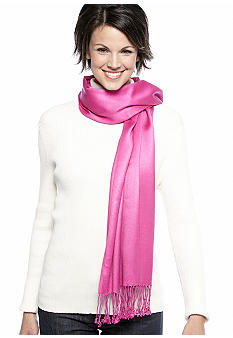New Directions Satin Pashmina Wrap