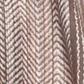 Juniors Scarves: Carmel Latte New Directions Multi Woven Stripe Wrap