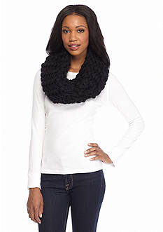 New Directions Crochet Knit Infinity Scarf
