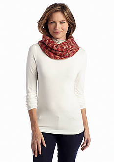 New Directions® Hazy Waffle Space-Dye Cowl Scarf