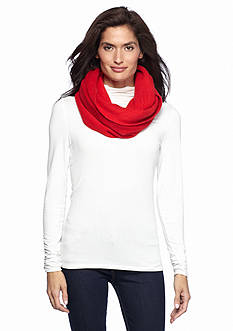 New Directions Super Fleece Infinity Scarf
