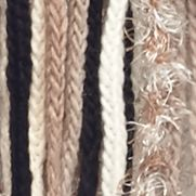 Handbags & Accessories: Cold Weather Sale: Desert Taupe New Directions All Over Feather Muffler Scarf