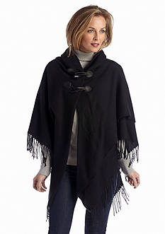 New Directions® Solid Toggle Poncho