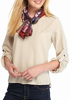 Kim Rogers Marble Texture Scarf