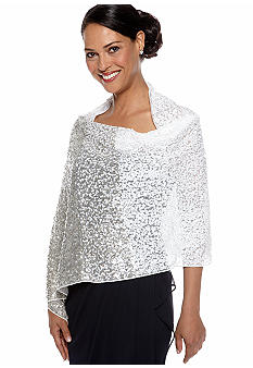 Betsey Johnson Ombre Sequin Wrap