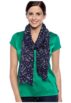 Betsey Johnson Anchor Scarf