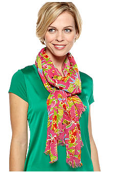 Betsey Johnson Fruit Scarf