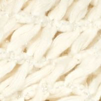 Steve Madden Accessories: Ivory Steve Madden Rag-A-Muffin Infinity Scarf