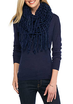 Steve Madden Rag-A-Muffin Infinity Scarf