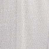 Juniors Accessories: White Silver Cejon Lurex Shimmer Wrap