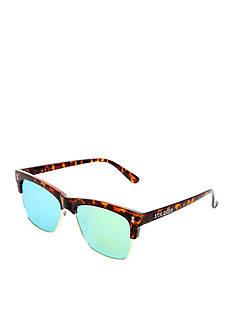 Steve Madden Flat Lens Tortoise Surf Sunglasses