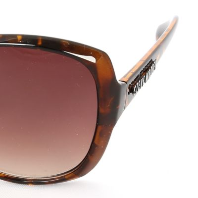 Women: Steve Madden Accessories: Tortoise Steve Madden Cat-Eye Sunglasses