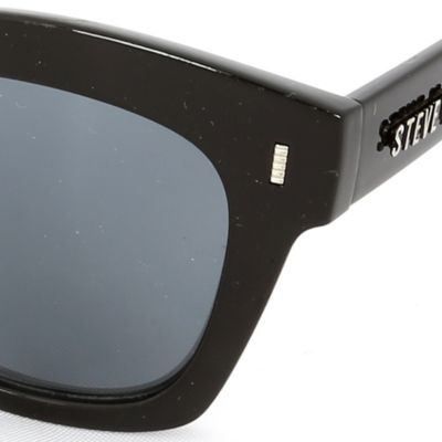 Steve Madden Juniors Sale: Black Steve Madden Mod Way Retro Sunglasses