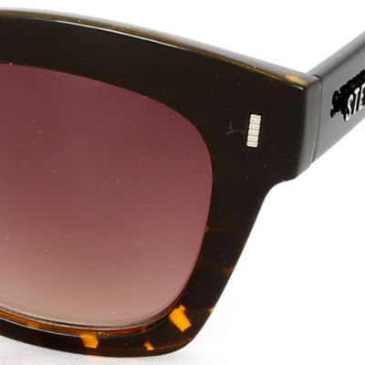 Steve Madden Juniors Sale: Brown Steve Madden Mod Way Retro Sunglasses