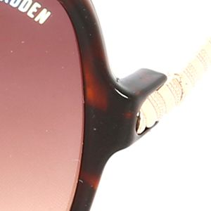 Steve Madden Juniors Sale: Tortoise Steve Madden Square Twisted Sunglasses