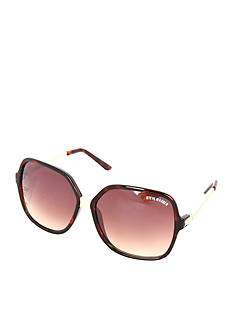 Steve Madden Square Twisted Sunglasses