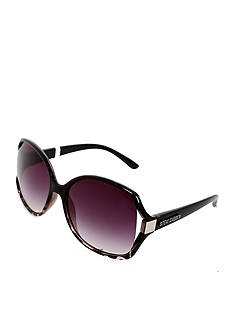 Steve Madden Open Vent Square Glam Sunglasses