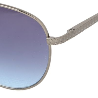 Guys Sunglasses: Gunmetal Steve Madden Aviator Sunglasses