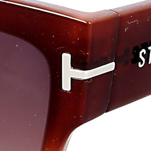 Steve Madden Juniors Sale: Brown Steve Madden Mod Way Thick Sunglasses