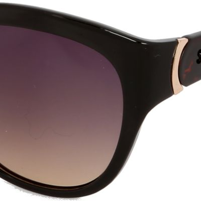 Steve Madden Juniors Sale: Black Tortise Steve Madden Oval Sunglasses