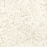 Clothing Accessories: Ivory Cejon Solid Boucle Shirt Tail Topper
