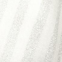 Cejon Handbags & Accessories Sale: White Cejon Metallic Striped Topper