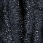 Clothing Accessories: Black Cejon Diamond Pleated Lurex Wrap Scarf