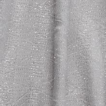 Clothing Accessories: Silver Cejon Diamond Pleated Lurex Wrap Scarf