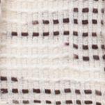 Handbags & Accessories: Cejon Accessories: Ivory Cejon Solid and Slub Yarn Day Wrap