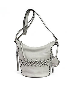 Jessica Simpson Tyson Lace-up Crossbody Bucket Bag