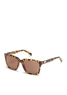 Calvin Klein Surf With Logo Button Sunglasses