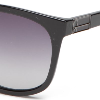Calvin Klein Accessories: Black Calvin Klein Large Surf Style With Metal Plaque Sunglasses