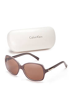 Calvin Klein Large Rectangle Sunglasses