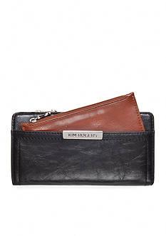 Kim Rogers Caraway Checkbook Wallet